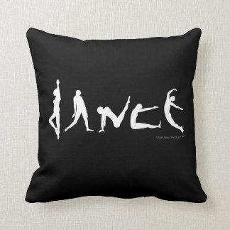 Dance Dancers Poses Silhouettes Fun Custom Pillow