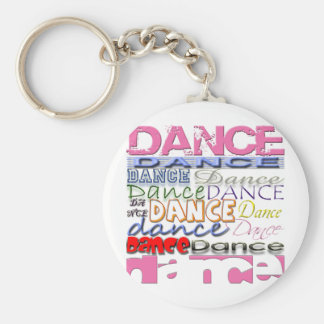 Dance Dancer's Products Keychain