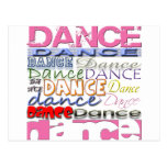 Dance Dancer's Products Postcard