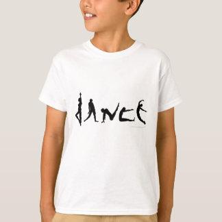 Dance Dancing Silhouette Design T-Shirt
