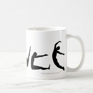 Dance Dancing Silhouette Mug