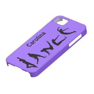 Dance Dancing Silhouettes Custom Dancer iphone 5 iPhone 5 Case