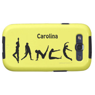 Dance Dancing Silhouettes Custom Name Samsung Case Galaxy SIII Cover