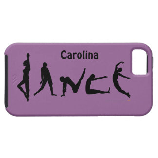 Dance Dancing Silhouettes iphone 5 Dancers Phone iPhone 5 Case