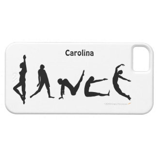 Dance Dancing Silhouettes Personalized  iphone 5 iPhone SE/5/5s Case