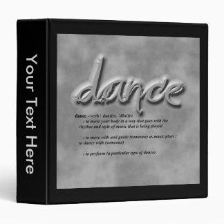 Dance Definition Binder