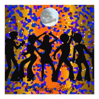 Dance Disco Birthday Party Invitation Personalized Invite