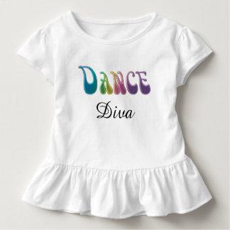 Dance Diva Cute Baby Girl Dress T Shirts