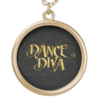 Dance Diva Gold Plated Necklace