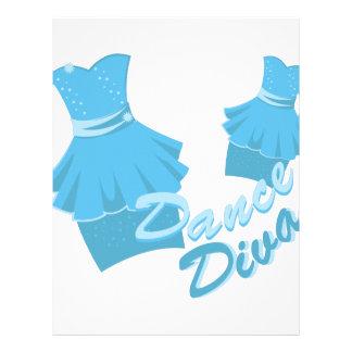 Dance Diva Letterhead