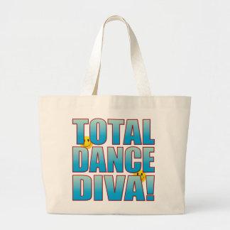 Dance Diva Life B Large Tote Bag