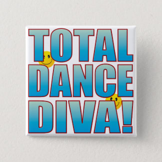 Dance Diva Life B Pinback Button