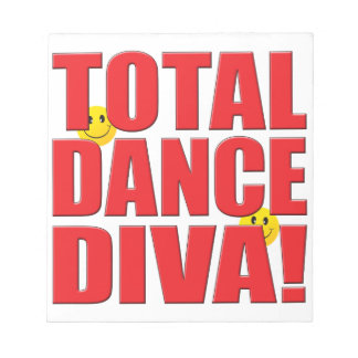 Dance Diva Life Scratch Pads