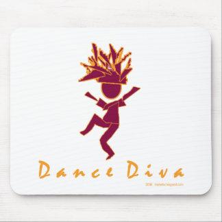 Dance Diva Mouse Pad