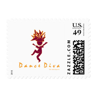 Dance Diva Postage