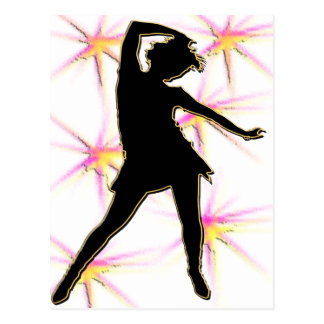 Dance Diva T-Shirts and Gifts Postcard