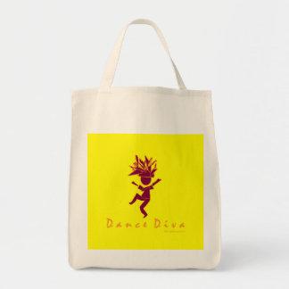 Dance Diva Tote Bags