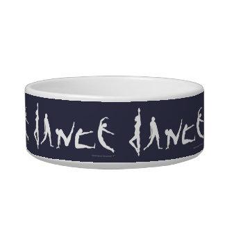 Dance Dog Dish Dancers Silhouettes Custom Color