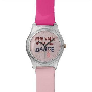 Dance Don´t Walk Wristwatches