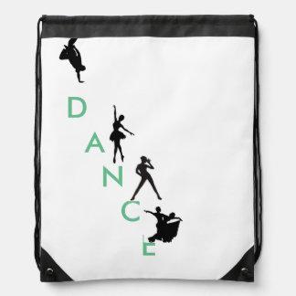 Dance Drawstring backback Drawstring Backpack