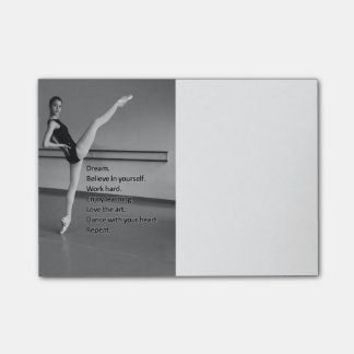 Dance Dream Gift for Dancers Post-it® Notes