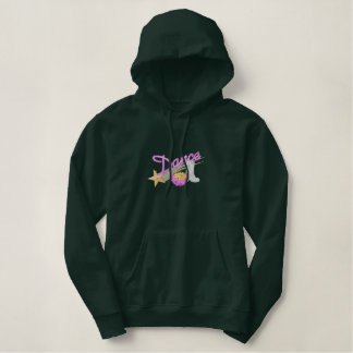 Dance/ Drill Team Embroidered Hoodie