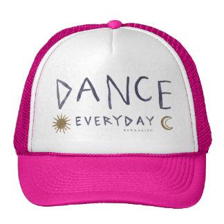DANCE EVERYDAY Boho Quote *Gold* Trucker Hat