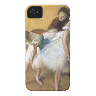 Dance Examination by Edgar Degas, Vintage Ballet iPhone 4 Case-Mate Case