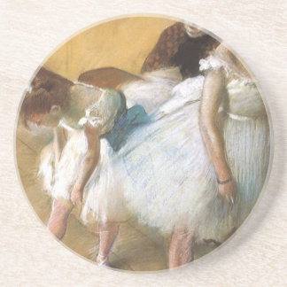 Dance Examination by Edgar Degas, Vintage Ballet Coaster