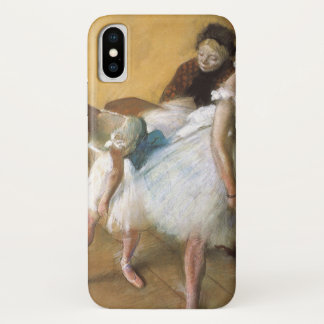 Dance Examination by Edgar Degas, Vintage Ballet iPhone X Case