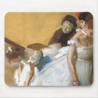 Dance Examination by Edgar Degas, Vintage Ballet Mouse Pad