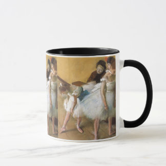 Dance Examination by Edgar Degas, Vintage Ballet Mug