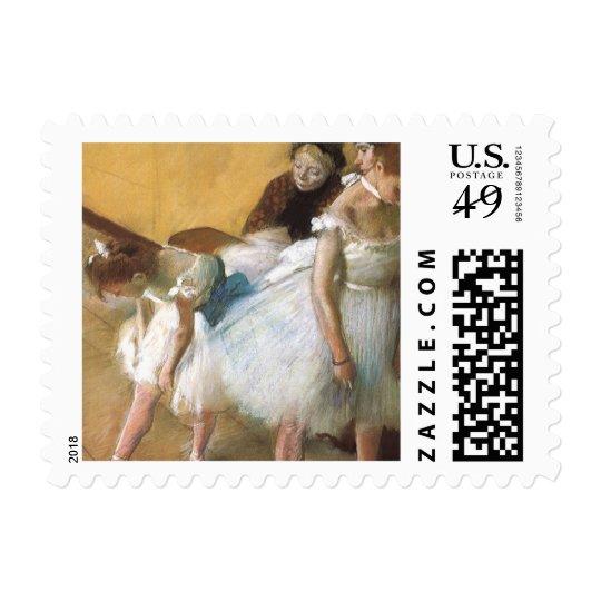 Dance Examination by Edgar Degas, Vintage Ballet Postage