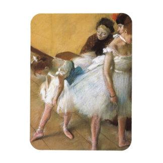 Dance Examination by Edgar Degas, Vintage Ballet Rectangular Photo Magnet