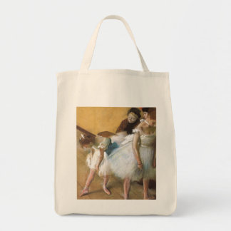 Dance Examination by Edgar Degas, Vintage Ballet Tote Bag