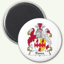 Dance Family Crest Magnet