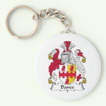 Dance Family Crest Keychain