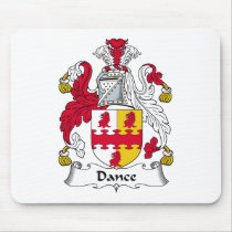 Dance Family Crest Mousepad