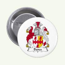 Dance Family Crest Button