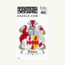 Dance Family Crest Stamps