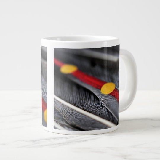 Dance Fan Large Coffee Mug