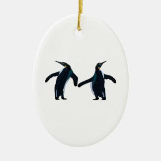 Dance Fever Ceramic Ornament
