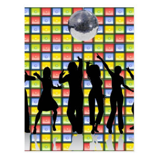 Dance Fever Postcard