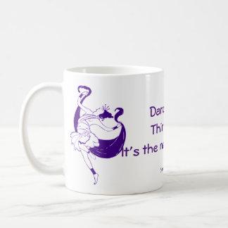 """""""Dance first"""" mug"""