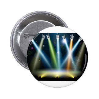 Dance floor or stage lights buttons