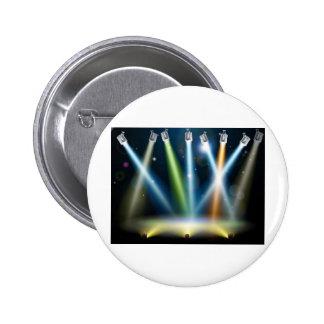 Dance floor or stage lights pin