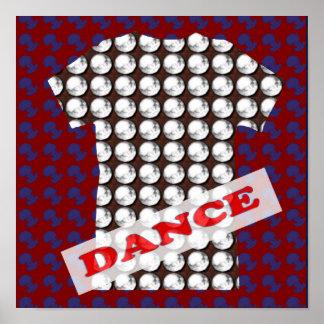 DANCE Floor Party Room Event - HAPPY Display GIFTS Poster