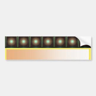 Dance Floor : Star Light TREND SETTER Art Bumper Sticker