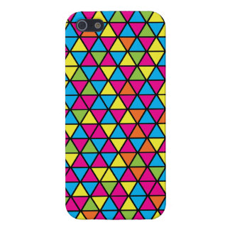 Dance Floor Triangle Pattern iPhone 5 Case