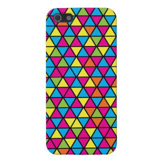 Dance Floor Triangle Pattern iPhone 5 Case